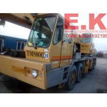 80ton Usado Grove Grua móvel para caminhão hidráulico (TMS800B)