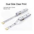 Multi function fashionary tailors 3m cintimetre fiberglass tape measuring tape proffersional trend cinta metricas de costura