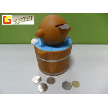 Plastic Money Box Vinyl Coin Bank PVC Money Box