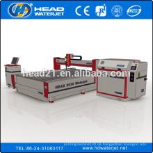 CE-Zertifikat HD 2030BA-380 Hochdruck-Wasserstrahl laminiert Glas Schneidemaschine