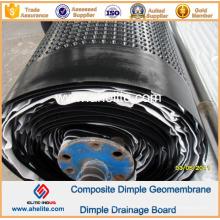Géomembrane de Dimple de HDPE pour l'ingénierie de Landscope