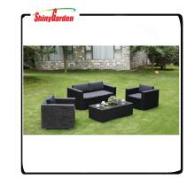 Garten Rattan Korbweide beste Sofa Möbel, Rattan Sofa zum Verkauf