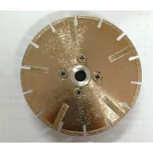 Lâmina de serra de corte de diamante galvanizada
