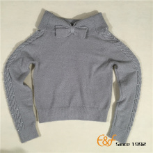 Strapless Collar Sweater for Girl