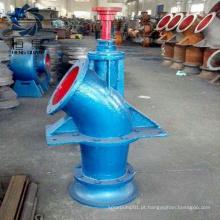 Taxa de fluxo variável da bomba de água