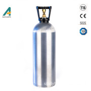 CE approved 13.4L aluminum seamless beverage CO2 gas cylinder