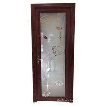 Powder coated aluminum alloy modern design aluminum bathroom door design