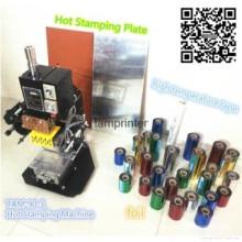 Machine d'estampage de feuille chaude de carte de mariage de Tam-90-1