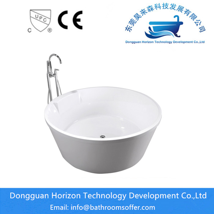 round freestanding tub