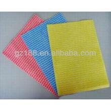 Спанлейс нетканые ткань для очистки ткань вискоза/полиэстер