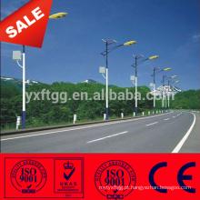 11M LED Solar Lâmpada Elétrica Poder Steel Pólo