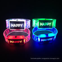2016 Christmas Items Led Light up Flashing Led Bracelet