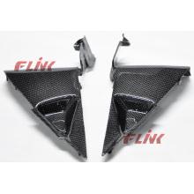 Fibra de carbono da motocicleta parte painel lateral para Honda Cbr600rr 07-09