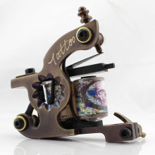 Pure Handmade CNC Cut Technology Brass Coil Tattoo Machine Equipment
