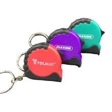 Mini cinta métrica de forma redonda de color personalizado