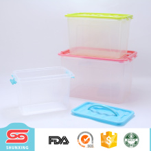low price household PP plastic storage boxes with sliding lid for sale