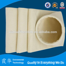 High temperature filter bag for dust collection