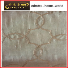 Fashion Embroidered Organza Curtain Fabric EDM2044