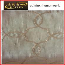 Fashion Embroidered Organza Curtain Fabric EDM2044