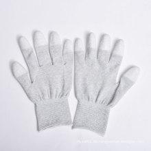 PU-Beschichtung auf Palm und Fingern Nylon / Polyester Handschuhe