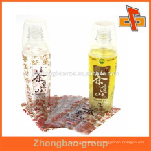 wholesale alibaba heat shrinking PET packaging label with perforations