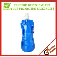 Förderung umweltfreundliche PET zusammenklappbare Wasserflasche