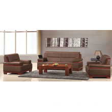 Davenport Furniture Brandy Rust Hard Wearing Leather Sofa