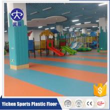 Venda quente Pvc colorido Não-skid Lavável Jardim de Infância Playground Tapete