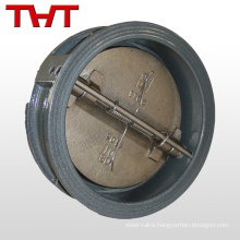 cast iron dual plate wafer swing check diverter Valve