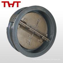 чугун двойной плиты межфланцевый обратный клапан перекрывной
