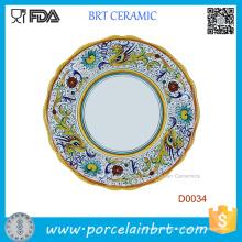 Plaque d'oeuf de porcelaine Dragon chinois vente chaude