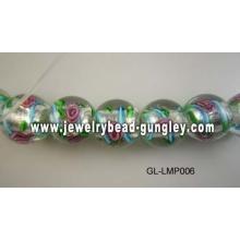 Blume-Lampwork-Beads für DIY Schmuck
