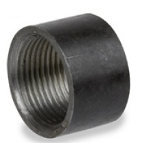 Black Half Steel Coupling