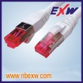 PVC, LSZH, OM3, OFNR, OFNP, Plenum SMA Fiber Patch Cable In FDDI System
