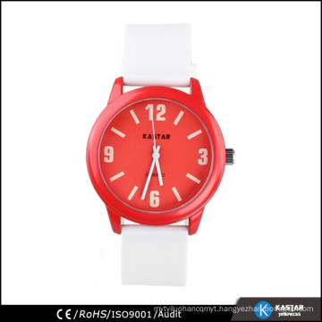 unisex colorful silicone watches japan movt.