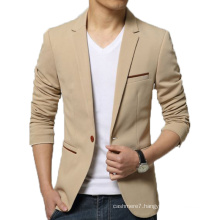 OEM Men Slim Fit Blazer Fashion Cotton Outwear Blazer