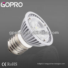 CE/ROHS 500lm E27 LED spotlight