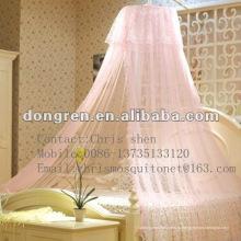 Кровать принцессы с зонтиком с шифоном для ребенка или для взрослых