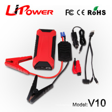 12000mA multi-function auto power bank 12v diesel/ gas car battery charger car accessory with peak current 600A