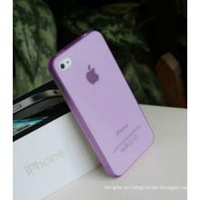 Caja plástica colorida vendedora caliente para el iPhone