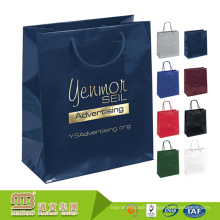 Custom Logo Design Various Colors Fashion Popular Hotstamping Hand Made Paper Bags