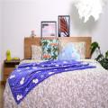 Snowman Printed Flannel Coral Children Cartoon Blankets