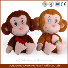 Plush soft monkey emoji names toys
