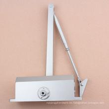 Brazo estándar 60 -80 Kg de cierre de puerta de aluminio hidráulico con el estándar CE