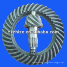 bus chassis parts spiral bevel gear EQ 153