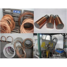 Fil d'acier plaqué de cuivre (CCS) 0.81mm