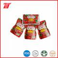 Pasta de tomate enlatada saudável orgânica com Yoli marca