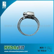 corrugated pipe hose clamp