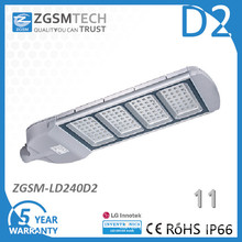 Impact Resistant Toughened Glass Cover High Quality LED Street Light