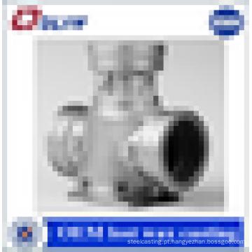 Fornecedor de China personalizado cera de cera perdida válvulas de aço inoxidável partes do corpo